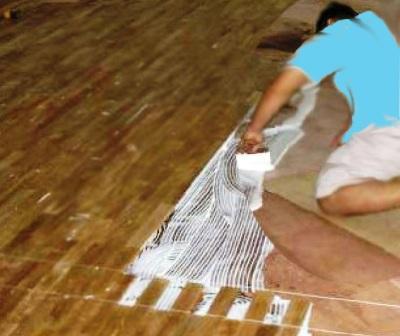 Cara memasang Lantai Kayu Lantai Kayu Solid